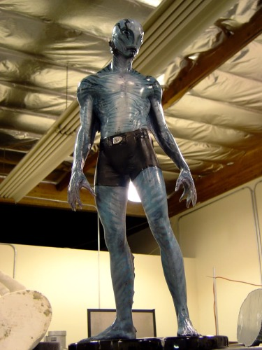 The Abe maquette, sculpted by Jose Fernandez and painted by Steve Wang.