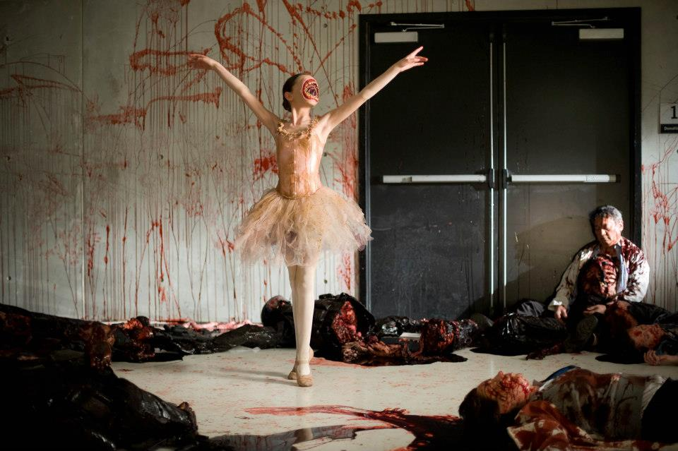 cabin in the woods ballerina scene 2