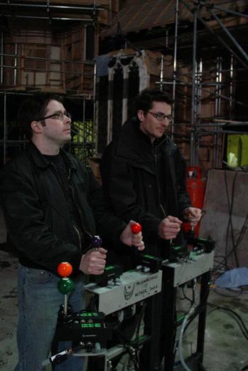 The Pool Ball animatronic controllers.