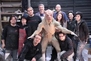 The sculpting crew.