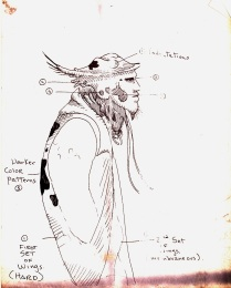 Original Mimic sketch by Guillermo del Toro.