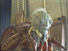 Mimic prototype. The head was later resculpted; the crest of hair is absent in the final design.