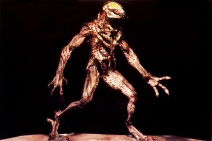 The final maquette of the original Predator.