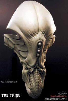 Head sculpture.