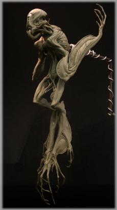 The Pilot maquette, sculpted by Clint Zoccoli.