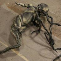 Pod Alien #2; seems to reuse one of the Ripley clone sculptures from 'Alien: Resurrection' (number 3, specifically).