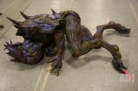 Pod Alien #5; repainted sculpture from 'DragonBall: Evolution'.