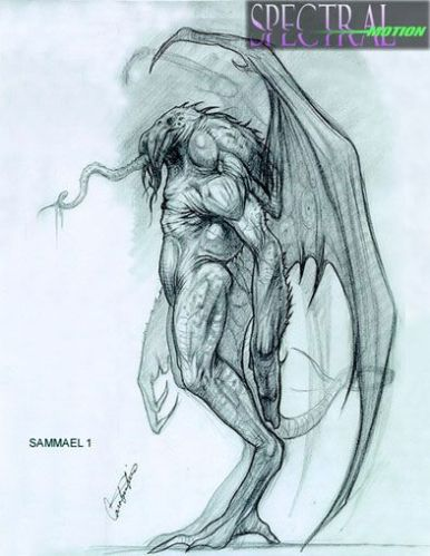 Early concept art by Constantine Sekeris.