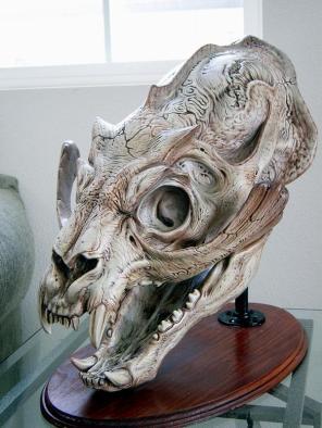 Sammael skull.