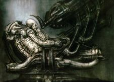 Final design by H.R. Giger.