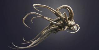 The 'Dicranurus' Trilobite concept by Neville Page.