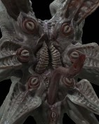 Early digital renders of the Trilobite by Neville Page.