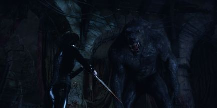 The Uber Lycan in the film.