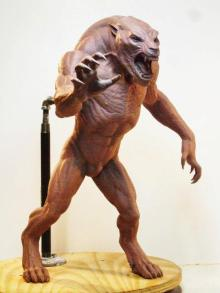 The Uber Lycan maquette.