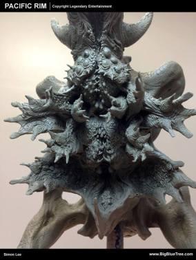 Maquette of Bat Ears Brady by Simon Lee.