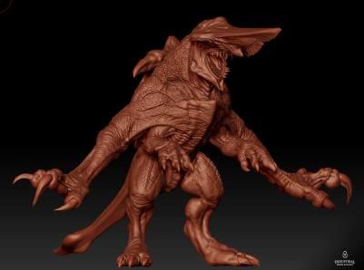 Final CGI model.