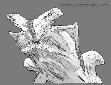 Slattern head concept by Guy Davis.