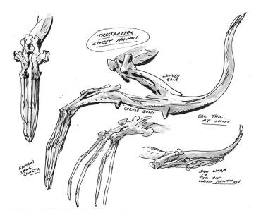 Trespasser arm concepts by Guy Davis.