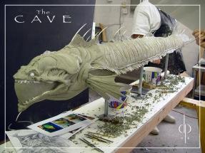 Eel sculpture by Dan Platt.