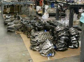 Armor parts.