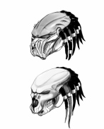 Carlos Huante's mask concepts.