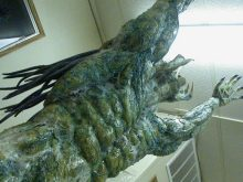 The skinned Predator.