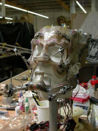 Predator head understructure.