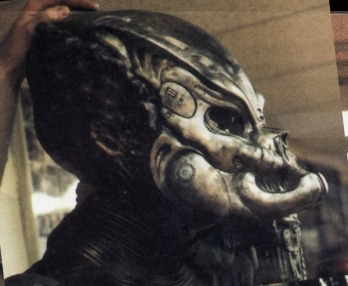 The 'Gort' Predator, using the original Predator mask.