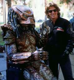 The Predator discusses his paycheck.