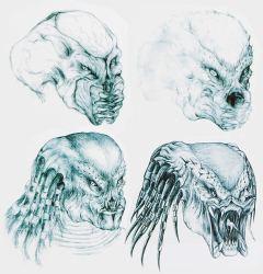 Stan Winston's Predator concepts.