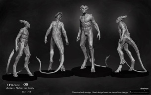 Concept art of Naberius.