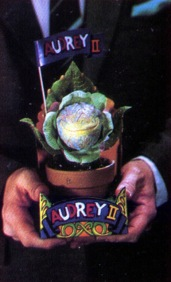 The new Audrey II -- harbinger of the new invasion.