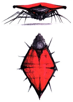 Chariot Bug design by Craig Hayes.