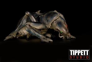 The Tanker Bug maquette, sculpted by Martin Meunier.