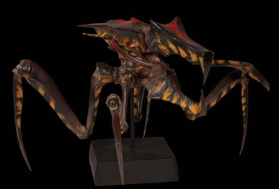 The Warrior Bug maquette, sculpted by Peter Konig.