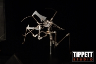 One of the Bug armatures used during the animation process.