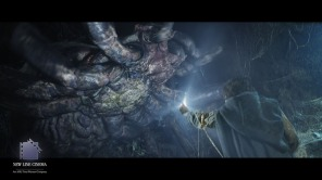 Shelob in the final film.