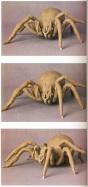 Shelob maquettes.