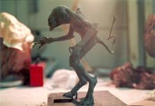 The Pumpkinhead maquette.