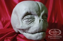 The Pumpkinhead fetus' head, sculpted by Tom Woodruff, Jr.