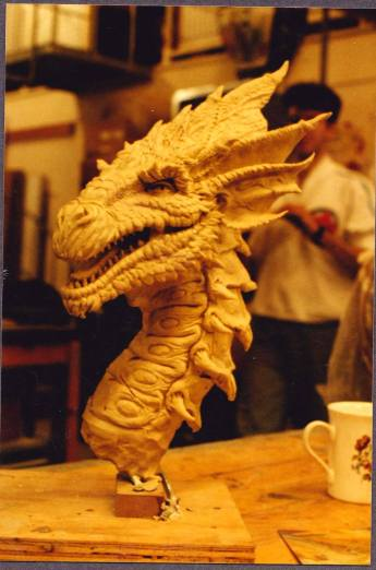 Design maquette sculpted by Gary Pollard at Jim Henson's Creature Shop.