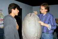 Sculpting the Egg.