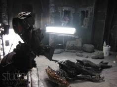 The dead Alien dummy.