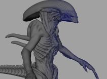 Building the digital Alien.