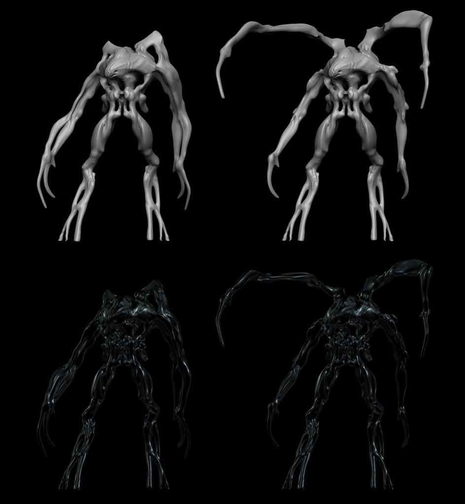 Super 8 Movie Monster | Cooperfull | Creature concept art |Super 8 Alien Design