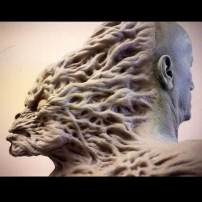 Sculpt of the Kane creature, by David W. Smith.