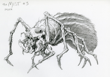Concept art by Bernie Wrightson.