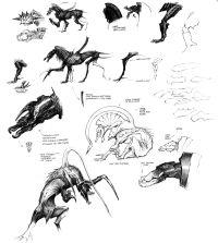 Thanator concept by Wayne Barlowe.
