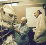 Building the Wampa suit.