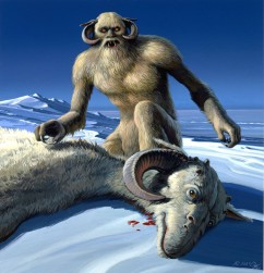 Wampa illustration by Ralph McQuarrie.